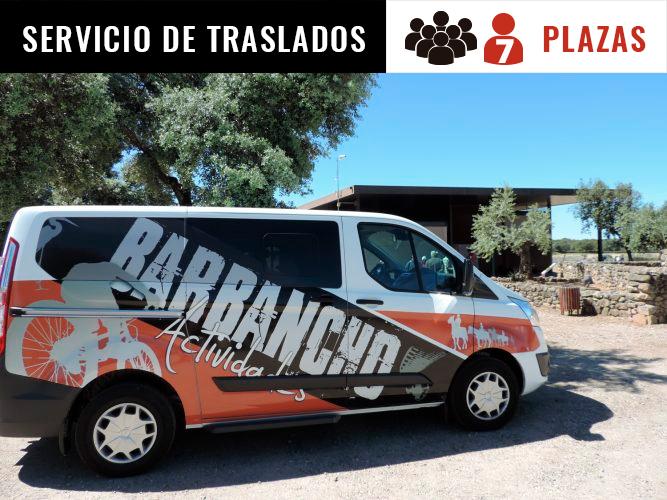 Servicio de traslados en Cáceres